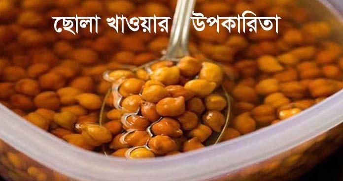 ছোলার পুষ্টিগুণ